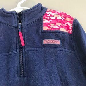 Vineyard Vines Shirts & Tops - Vineyard Vines shep shirt girl pullover blue whale